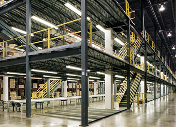 Click for more information on our Mezzanines.