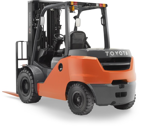 forklift rear view