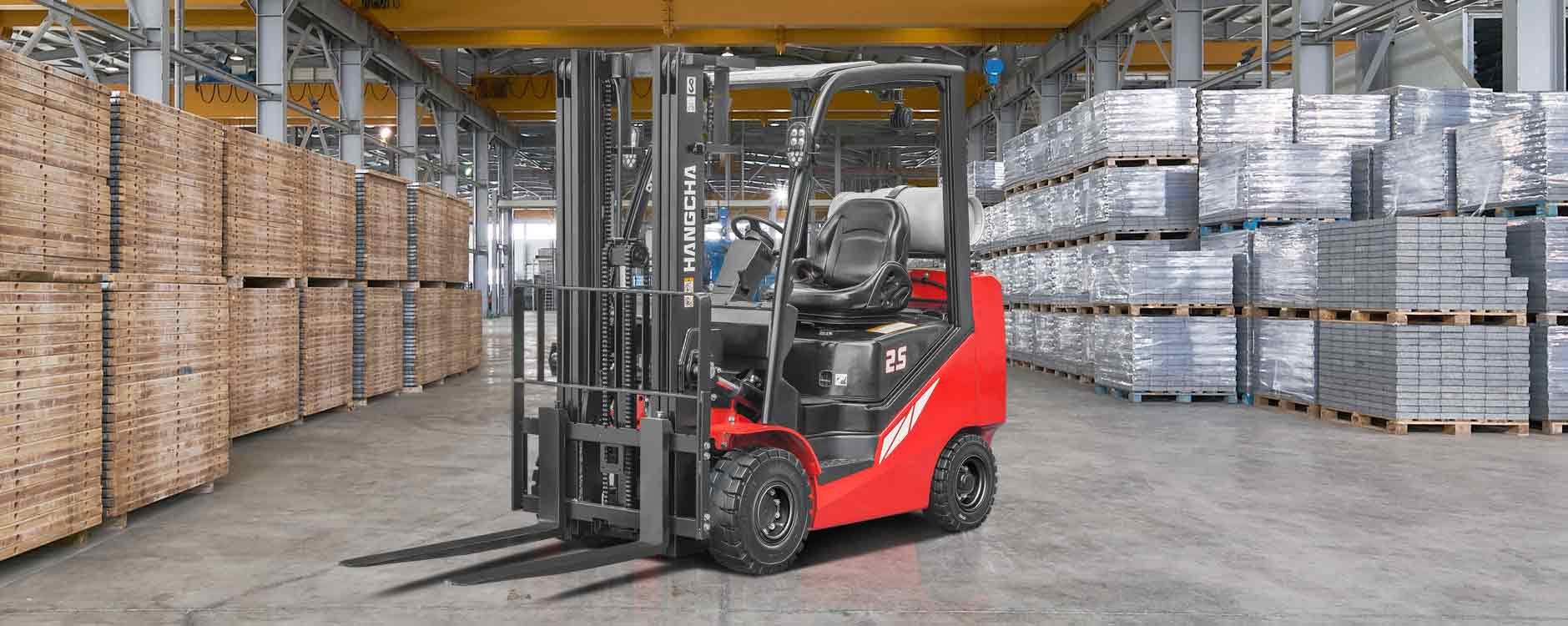 Hangcha FP25CP - IC Pneumatic Forklift 5,000 lbs